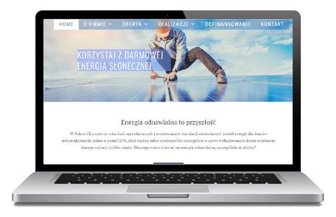 darmowa energia - Fotowoltaika Opole - strona WWW