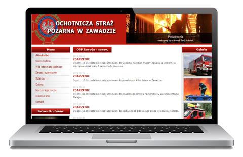 osp Zawada - serwis internetowy