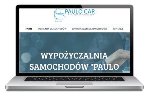 paulocar - Opole - wypożyczalnia - strona WWW