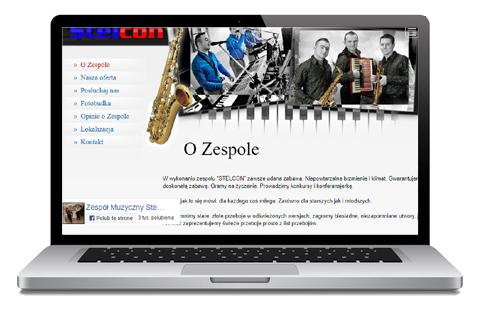 stelcon - zespół muzyczny Krapkowice - strona WWW